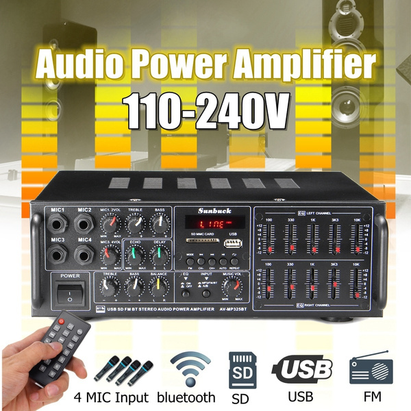 soundamplifier, Microphone, stereoamp, Home & Living