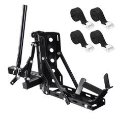 motorcyclerack, 800lbcapacitymotorcyclecarrier, haulerhitchmountrack, motorcyclecarrier