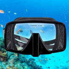 underwaterdivingmask, divingmask, Silicone, Goggles