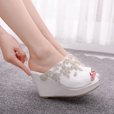 Woman Shoes, wedding shoes, Wedding, Peep Toe