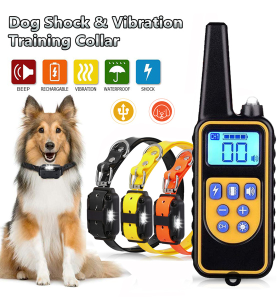 Rechargeable, Remote, barkingcontrol, Pets