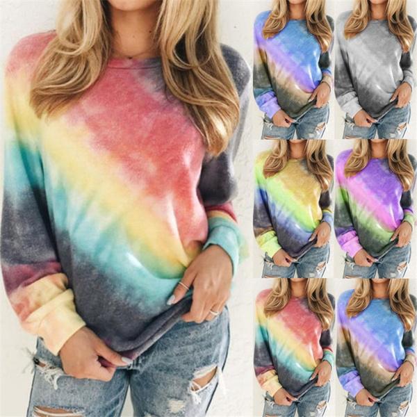 Long Sleeve, topsamptshirt, Women's Fashion, womentopsplussize