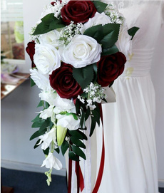 roseholdingflower, Flowers, Wedding Accessories, Bouquet