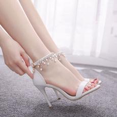 Summer, Fashion, Woman Shoes, Dress