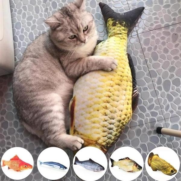 Plush, Toy, Pets, fish
