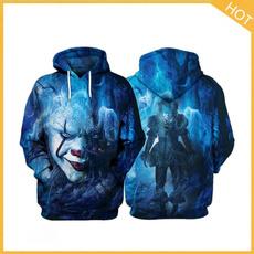 stephenking, Fashion, 3D hoodies, unisex
