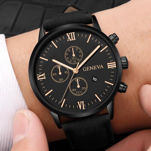 Chronograph, Fashion, business watch, Men