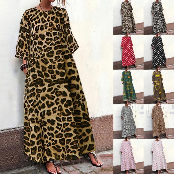 dressesforwomen, print dress, long dress, plus size dress
