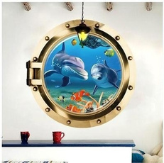 Turtle, underwater, Decor, Home Decor