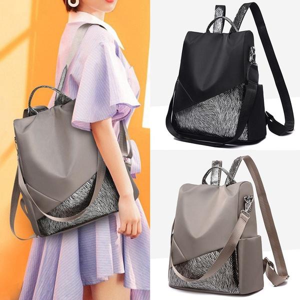 Shoulder Bags, School, Fashion, antitheftbackpack