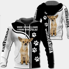 chihuahua, pullover hoodie, unisex, cool shirts