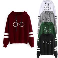 Fleece, Fashion, Long Sleeve, Pullovers