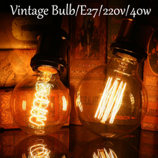Antique, ledlightbulblamp, 3dfireworksbulb, Christmas