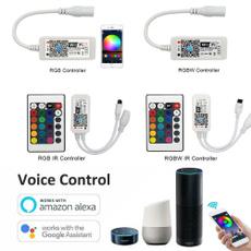 Mini, remotecontroller, workwithalexagoogleassistant, led