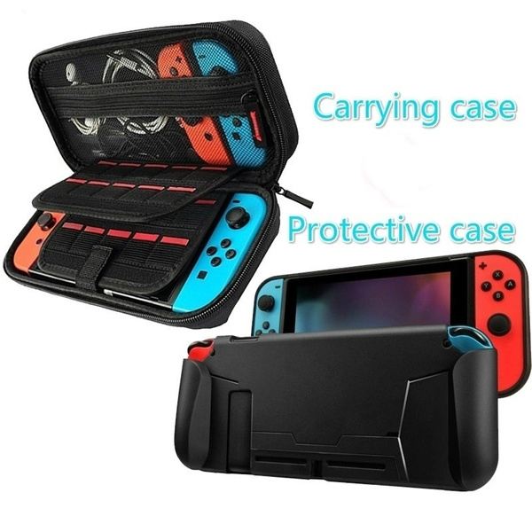 case, protectivecasefornintendoswitch, Console, Video Games