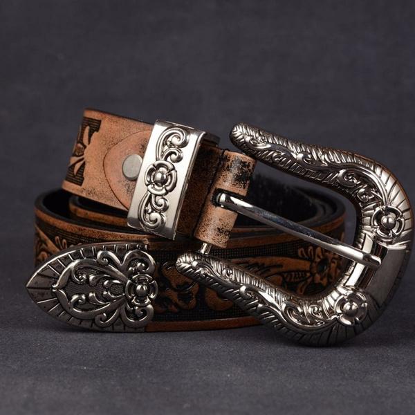 Fashion Accessory, Flowers, cowboy belt, Pins