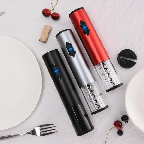 redwineopenerelectoric, winebottleopenercorkscrew, Electric, wineopenertool