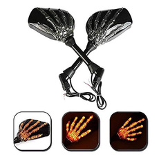 motorcycleaccessorie, 8MM, led, Skeleton