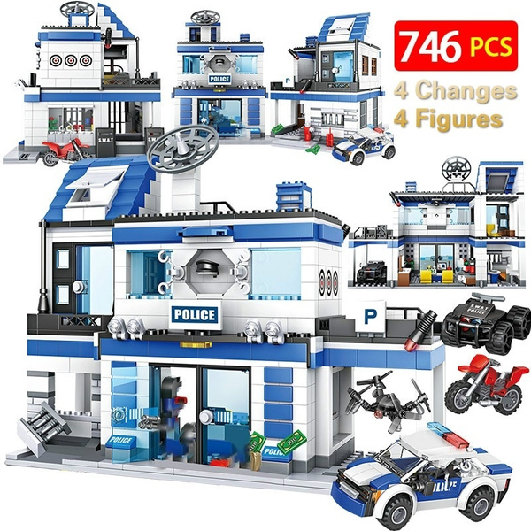 city, Toy, Police, Cars