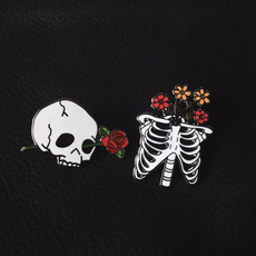 Dark, Goth, brooches, Love