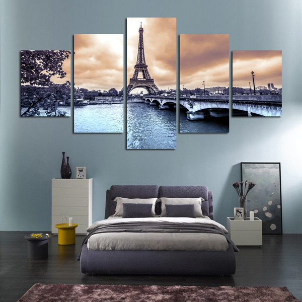 5piece, art, canvaspainting, Posters