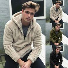 fur coat, pulloversformen, hooded sweater, furpullover
