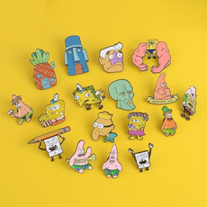Star, squidwardpin, Pins, spongebobsquarepant