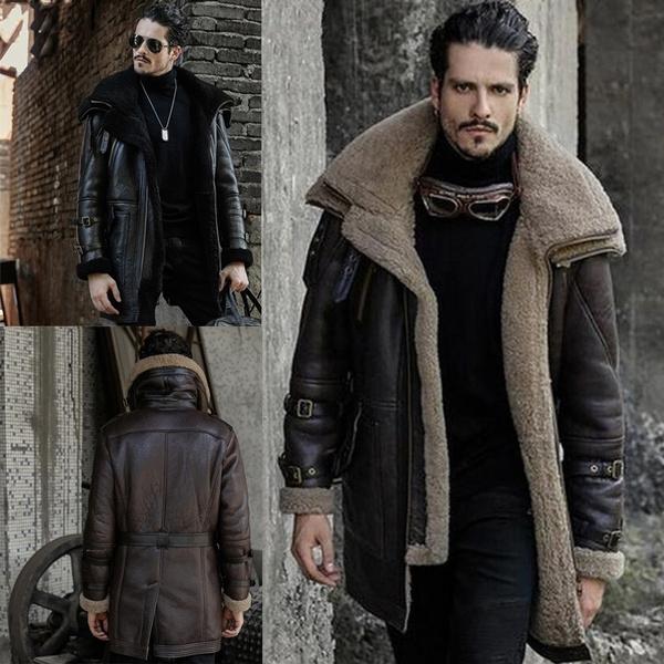 Turn-down Collar, motorcyclejacket, Plus Size, fur