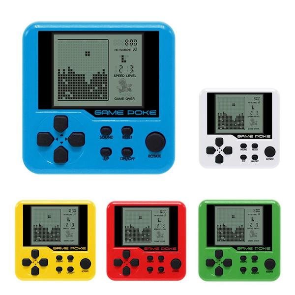 Children Tetris Handheld Game Console Portable Mini Game Handheld Toys Wish