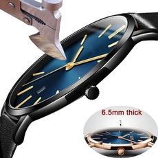 ultrathinwatch, Мода, Waterproof Watch, leather strap