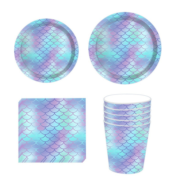 kidsbirthdayparty, mermaidparty, disposabletableware, Wedding