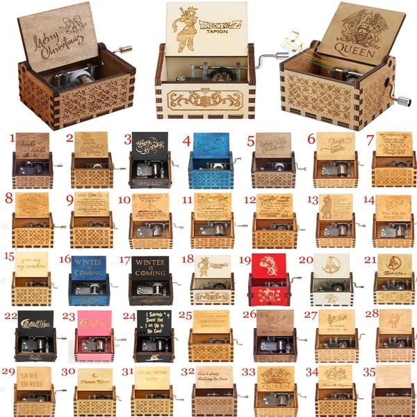 Antique, Box, musicbox, Christmas