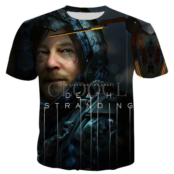 deathstranding, Summer, Fashion, Shirt