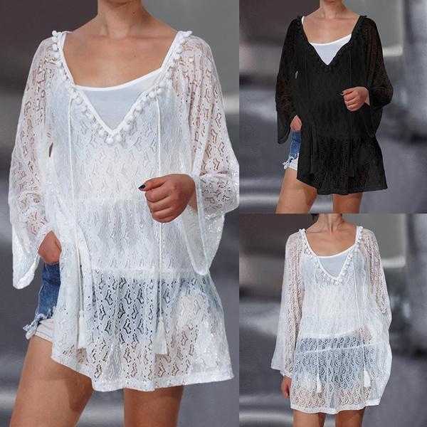 shirtsforwomen, Plus Size, elegantblouse, Long Sleeve