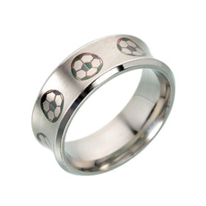 Steel, Stainless Steel, Football, Fashion Accessories