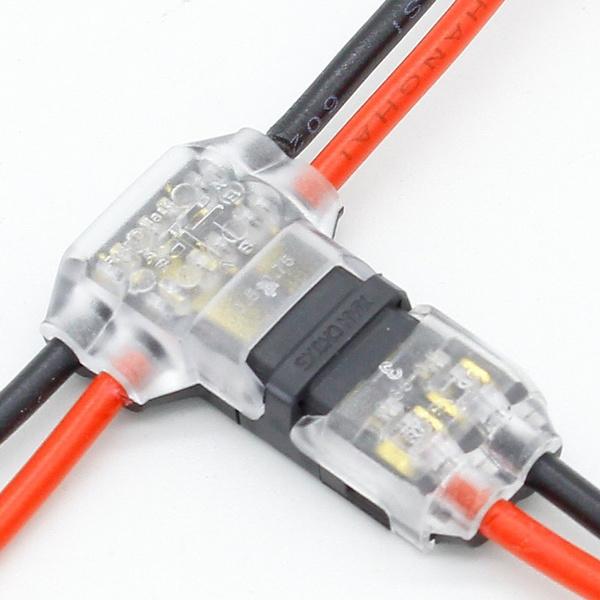 compactwireconnector, tshapewirewiringconnector, splice, wirewiringconnector