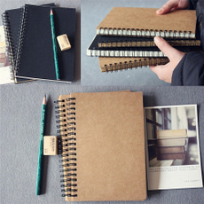 blankbook, sketchbook, writingpad, coilnotebook