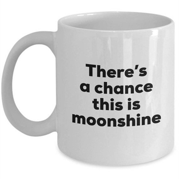 Coffee, teamug, christmasbirthdaygaggift, moonshinecoffeemug