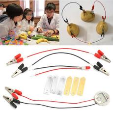 kidslearningtoy, fruitsupplyelectricityexperiment, leariningscienceeducationaltoy, childrensbioenergysciencekit