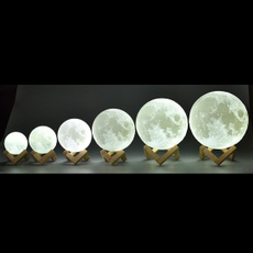 3dmoonlamp, Rechargeable, Night Light, Home Decor