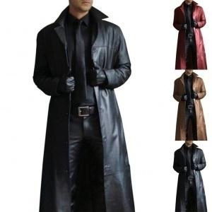 motorcyclejacket, Plus Size, Long Coat, leather