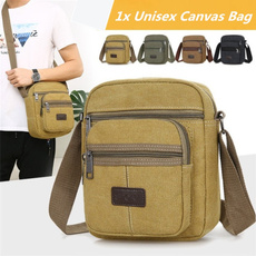 Shoulder Bags, Canvas, Casual bag, Messenger Bags