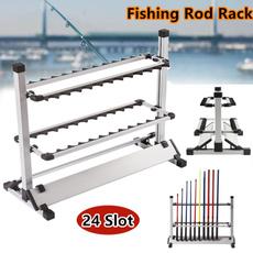 fishingrodorganizer, fishingrodstand, Aluminum, fishingaccessorie