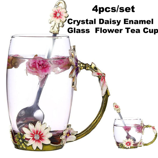 crystalglasscup, Coffee, mugscup, daisycup