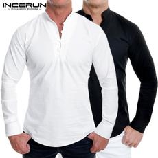men shirt, white shirt, Yoga, Shirt