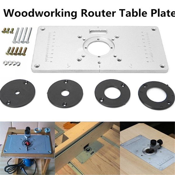 Plates, woodworkingbenche, woodworkingtable, Aluminum