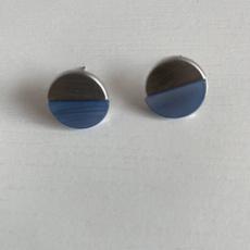 platinum, Gemstone Earrings, vintage earrings, Geometric