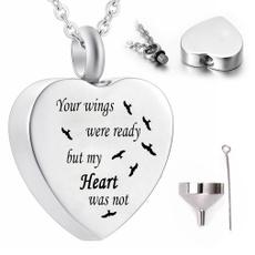 Heart, jewelryforashesheart, urnnecklaceforasheswing, ashesurnholder