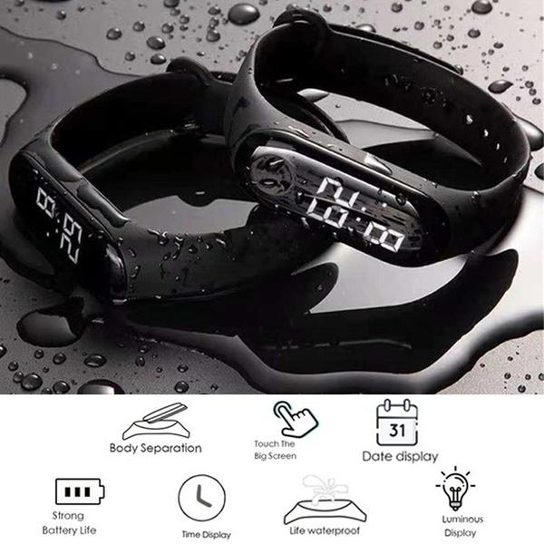 Touch Screen, led, Waterproof, Bracelet Watch