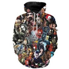 hooded, murderer, Horror, punk